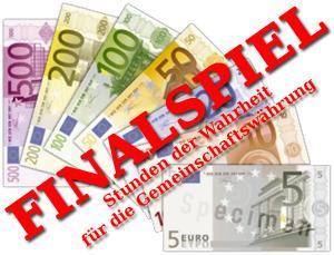 Finalspiel um den Euro - Eurobild (C) Wikipedia/Andrew Netzler / EZB